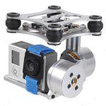 Držiak kamery dvojosý, FPV 2-Axis Brushless Camera Gimbal / Phantom Gopro