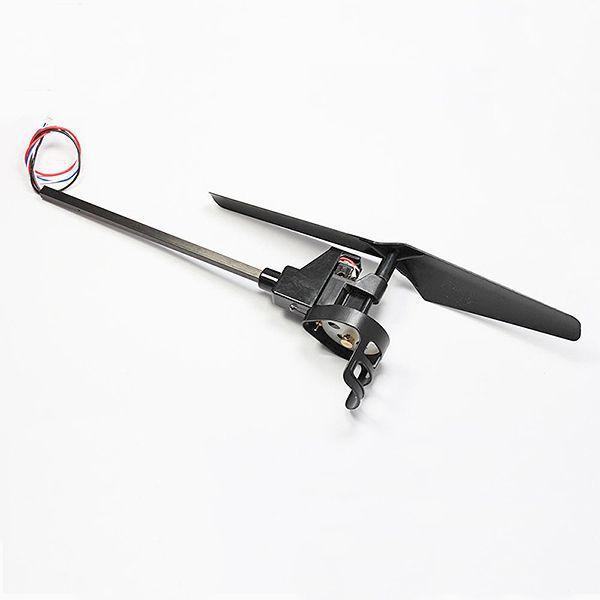 Rameno kompletný s vrtuľou čierna X1 pre Dron Patriot s kamerou (A) RCskladem