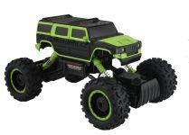 Hummer Truck Maistro 2,4Gh 36cm s vysokým podvozkom - zelený