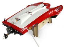 Profi laminátový závodné katamaran Sea Fire so striedavým motorom 65 + km / h