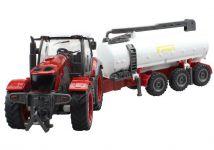 Traktor s cisternou na diaľkové ovládanie 48cm
