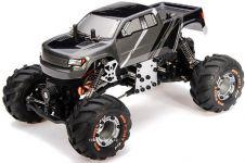 Super mini Rock Crawler 4WD plný kovových dielov a voliteľnými možnosťami jazdy
