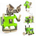 Kreatívne stavebnice pre deti 4v1 s motorkom!