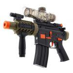 Puška na gélové guličky BUBBLE GUN čierna