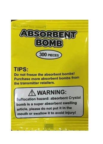 ABSORBMENT BOMB  Gelové kuličky 6bal x 300ks