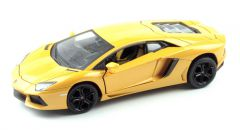 MZ LAMBORGHINI LP700-4 1:24 model autíčka, žltý
