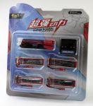Sada batérií 4ks Li-Pol 600mAh 3.7V 4ks + USB nabíjačka a redukcia
