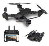 DM107s Dron s Wifi FPV dvojitou kamerou 2 MP čierny
