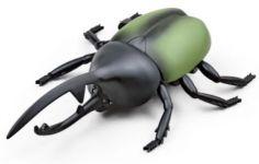 Super strašidelný RC chrobák chrobák zelený