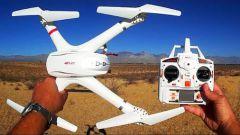 MJX X101 Dron s FPV wifi HD kamerou C4008 50cm EVOLUTION PRO a sadou 5ks batérií!