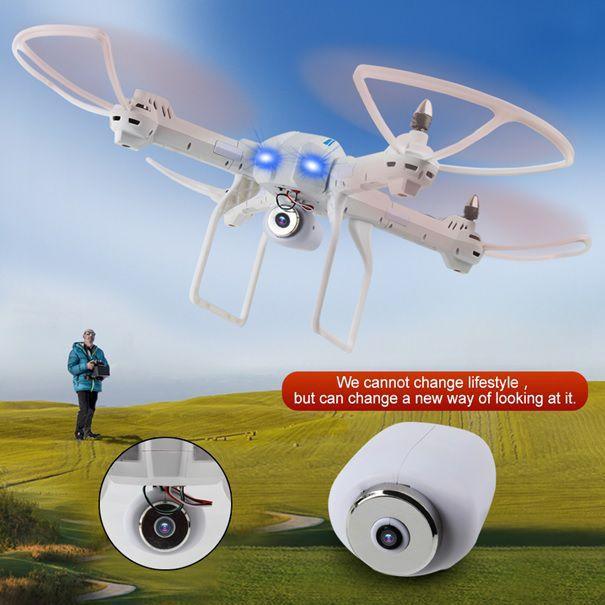 XXL DRON L5 s HD WIFI kamerou- barometrem-15 minut letu