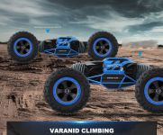 Hyper actives stunt transformujúcej off-road auto! modré