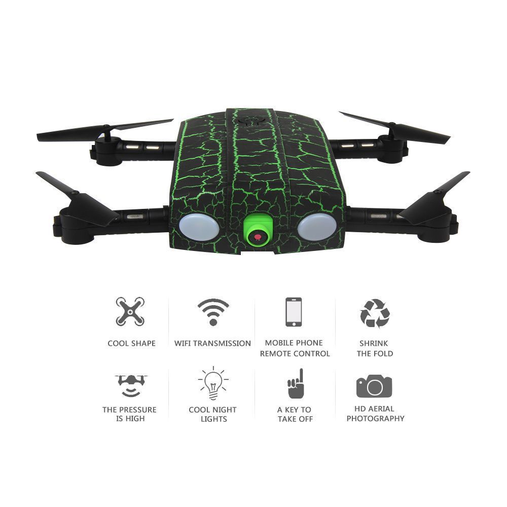 SKLADACIE DRON DO KAPSY MONSTER 19cm MASTER PRO predĺžená doba letu na 20 minút! zelený RCskladem