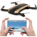 SKLADACIE DRON GYRO TRACKER 16cm EVOLUTION PRO + sada 5ks batérií, nabíjačka USB, zlatý