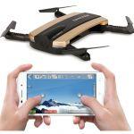 SKLADACIE DRON GYRO TRACKER 16cm S ONLINE prenosu obrazu, zlatý