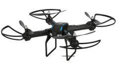 ĽUDÍ-5 XXL DRON L5 55cm s HD kamerou- barometrom-15minut letu, čierny