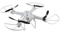 XXL DRON L5 55cm s HD kamerou- barometrom-15minut letu, biely