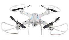 XXL DRON L5 55cm EVOLUTION PRO s HD kamerou- barometrom 4ks batérií navyše! biely