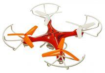Dron Voyager 29cm s trojlistou vrtuľami, kamerou MASTER PRO 2 batérie navyše! červený