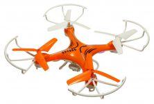 Dron Voyager 29cm s trojlistou vrtuľami, kamerou MASTER PRO 2 batérie navyše! oranžový