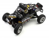 Extrémne rýchla štvorkolka CRAWLER KING 1:18, 28cm, 40km / h, čierna