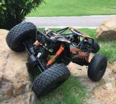 Rock buggy Goliash