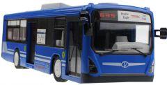 RC Autobus 33cm 2,4 GHz s otváracími dverami, modrý
