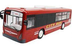 RC Autobus 33cm 2,4 GHz s otváracími dverami, červený