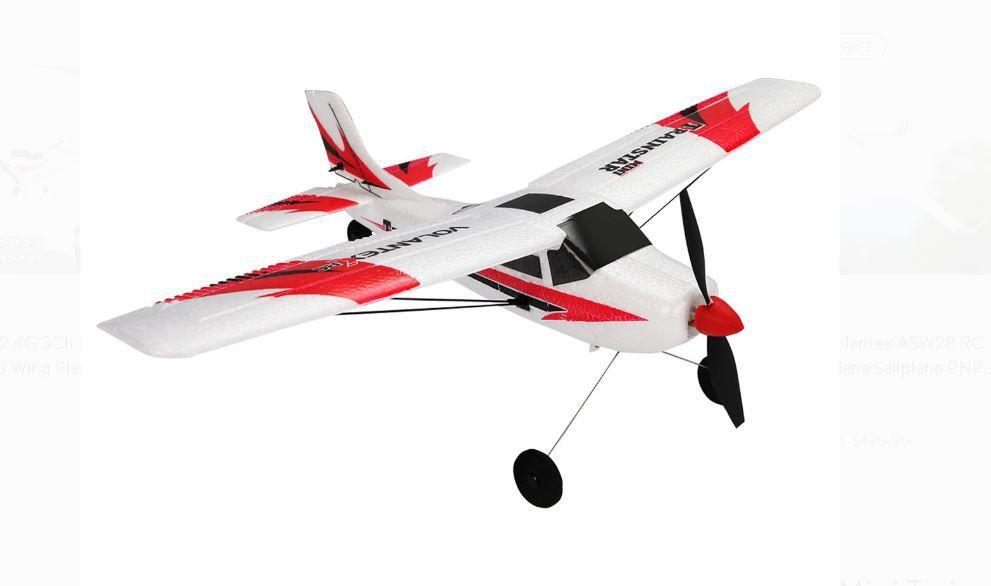 RCskladem, RCdarky, RC modely letadel, RC letadla, Volantex, Trainstar mini, Trainstar 400