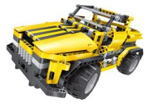RC stavebnica Mechanical Master Skladací Kamión - Púštna bugina 2 v 1