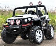 BIG BOY OFFROAD 4WD Dětské elektrické vozítko do terénu bílé