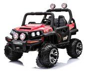 BIG BOY OFFROAD 4WD Detské elektrické vozidlo do terénu červenej