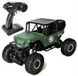 JEEP CLIMBER TRUCK 4WD 1:18 RTR vojenský horolezec a obranca v zelenej