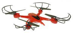MJX X400 - RC dron s online FPV prenosom, červený