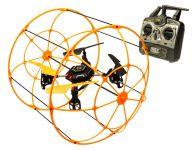 RC Dron SKYWALKER, 2,4 GHz, oranžový