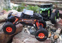 Rock Truck Crawler 2,4Gh, 28cm, do extrémneho terénu, oranžová