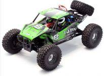 Superrýchla závodnej buggy 50km / h 1:12 2.4GHz, zelená