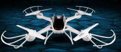 XXL Dron S3 58cm s HD kam. záznam na SD kartu 12 minút letu, biely