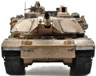 RC Tank s dymom a zvuky 69cm M1A2 ABRAMS, strieľa guľôčky