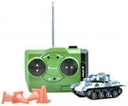 RC Tank Attack Power 1:72 Šedomodrá