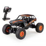 Realistická závodné štvorkolka, 45cm a silným motorom, oranžová