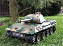 RC Tank 1/16 German Panther, dym a zvuk. efekty