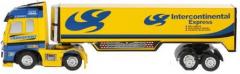 Mini RC Kamión Intercontinental Expres 1:98 16cm, žltý
