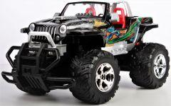 Jeep Wrangler Cabrio HURRICANE - krásny offroad pre každé dobrodružstvo a terénu, čierna