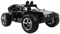 Nádherná Buggy Storm PRO Desert 45km / hod 4x4 41cm, ktorá svieti a navyše s batériou navyše, čierna