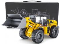 RC BULDOZER - exkluzivní profesionální kovový 12ti kanálový kovový stroj