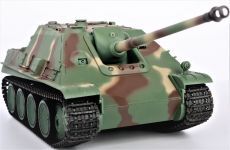 RC TANK German Jagdpanther 1:16, s dym. a zvukovými efektmi, strieľa guľôčky