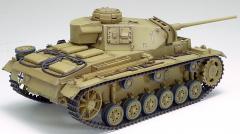 RC Tank German Panzer III type L, 1:16, zvuk. a dym. efekty, strieľa guľôčky