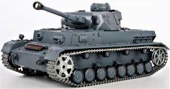 RC TANK German Panzerkampfwagen IV Ausf 1:16 zvuk. a dym. efekty, oceľové doplnky, strieľa guľôčky