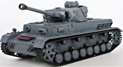 RC TANK German Panzerkampfwagen IV Ausf (F2 Type) 1:16 zvuk. a dym. efekty, strieľa guľôčky